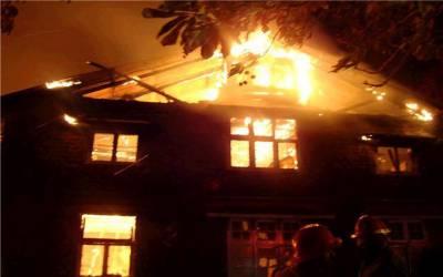 مری کے قریب گھرمیں آتشزدگی سے سامان جل کر راکھ ہوگیا