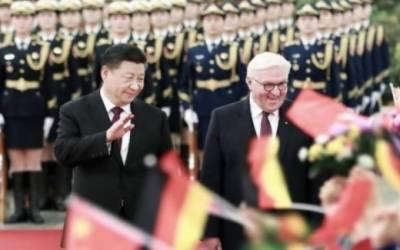 جرمن صدر کی دورہ چین کے آخر میں ہم منصب شی جن پنگ اور وزیراعظم لی کی چیانگ سے ملاقاتیں