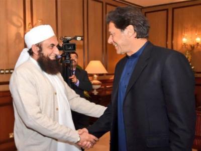 وزیراعظم عمران خان سے مولانا طارق جمیل کی ملاقات