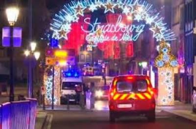فرانس: کرسمس بازار میں فائرنگ، دو افراد ہلاک، 6 زخمی