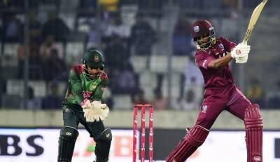 بنگلہ دیش اور ویسٹ انڈیز کی ٹیمیں تیسرے اور آخری ون ڈے میچ کےلئے جمعہ کو آمنے سامنے ہوں گی