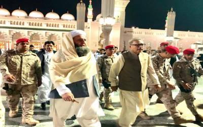 صدر مملکت سے وزیر مذہبی امورکی ملاقات، سعودی عرب کے ساتھ حج معاہدوں پر تفصیلی بریفنگ