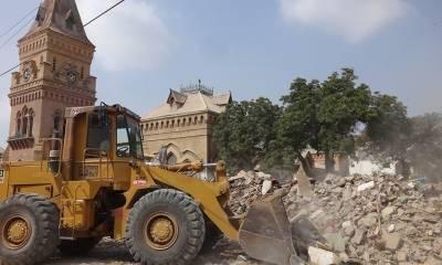 کراچی: منہدم دکانوں کے مالکان کو متبادل جگہ دینے کی سمری حکومت سندھ کو ارسال