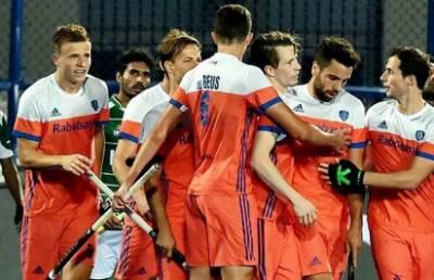 کوارٹر فائنل میں نیدرلینڈ نے میزبان بھارت کو دو کے مقابلے میں ایک گول سے شکست دی، سیمی فائنل کے لیے کوالیفائی کر لیا