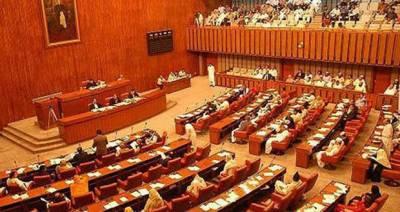 سینیٹ اجلاس قائم مقام چیئرمین کی زیر صدارت شروع