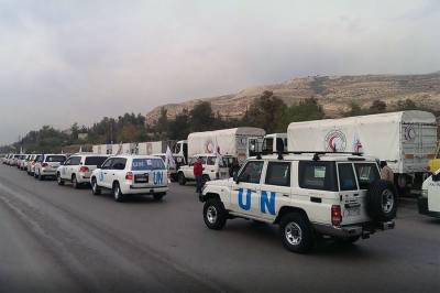 اقوام متحدہ نے شام کے لیے امدادی سامان کی فراہمی میں ایک سال کی توسیع کر دی