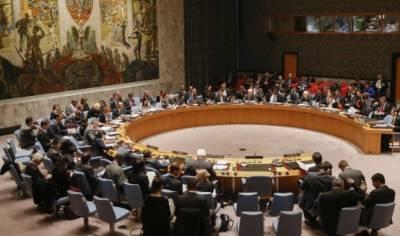 سلامتی کونسل کی شام میں امداد کی فراہمی میں ایک سال کی توسیع کی منظوری