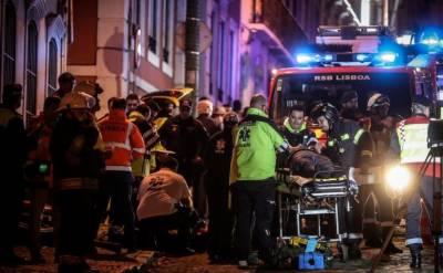 پرتگال،امدادی کارروائی میں مصروف ہیلی کاپٹر کو حادثہ،4افراد ہلاک