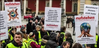 فرانس کی 'یلو ویسٹ تحریک' جرمنی پہنچ گئی، احتجاجی مظاہرے شروع