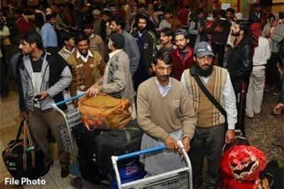مختلف ممالک سے 17 ہزار 411 پاکستانی بے دخل