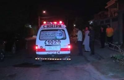 کراچی:سرجانی ٹائون میں فائرنگ، باپ بیٹا جاں بحق، دوسرا بیٹا زخمی