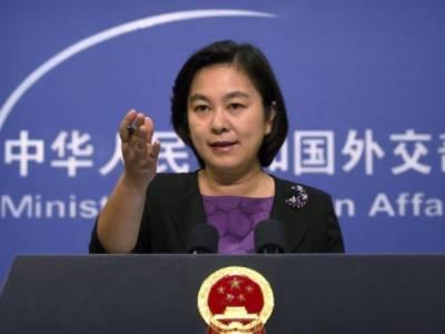 امریکا خلا کو جنگی سرگرمیوں کا مرکز بنانے سے گریز کرے۔ چین