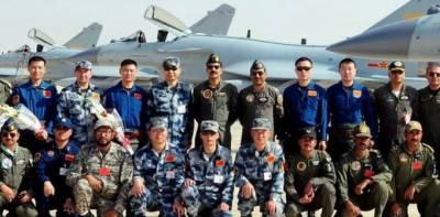 پاکستان اور چین کے درمیان مشترکہ عالمی فضائی مشق ''شاہین ہفتم'' اختتام پذیر