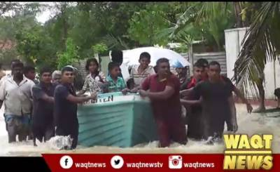 Over 60,000 affected by floods in northern Sri Lanka