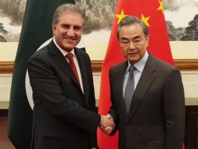 وزیر خارجہ شاہ محمود قریشی چین پہنچ گئے، ہم منصب وانگ ژی سے ملاقات
