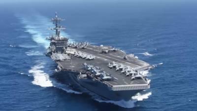 خلیج میں آنے والے امریکی طیارہ بردار بحری جہاز کو خطرہ تصور نہیں کرتے۔ ایرانی کمانڈر