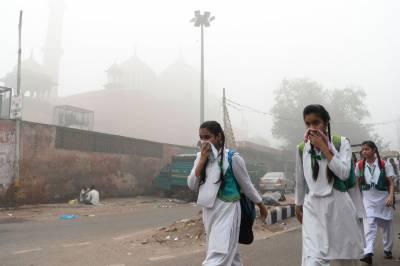 نئی دہلی کی آلودگی سے تنگ مکین اسے چھوڑ جانے پر مجبور