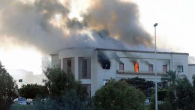 لیبیا میں وزارت خارجہ کی عمارت پر خودکش حملہ؛ 3 افراد ہلاک