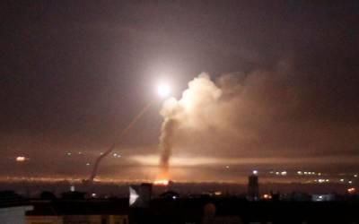 اسرائیل کا شام میں اسلحہ ڈپو پر فضائی حملہ،3 شامی فوجی زخمی