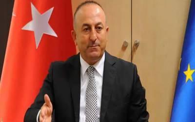 ترکی جلد دریائے فرات عبور کرنا چاہتا ہے۔ ترک وزیر خارجہ