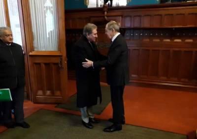 وزیر خارجہ شاہ محمود قریشی کی روسی ہم منصب سے ملاقات