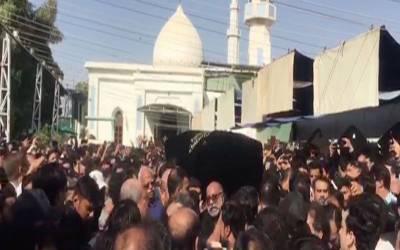 علی رضا عابدی سپرد خاک، قتل کا مقدمہ درج نہ ہوسکا، تحقیقات جاری