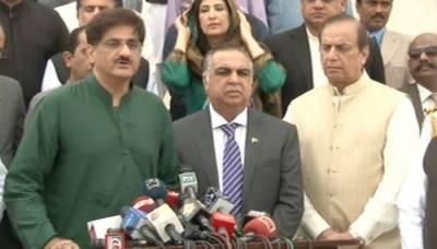 علی رضا عابدی کا قتل کراچی کا امن تباہ کرنے کی سازش ہے۔ عمران اسماعیل