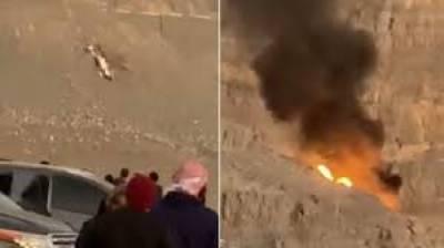 متحدہ عرب امارات میں ہیلی کاپٹر گرکر تباہ ہوگیا