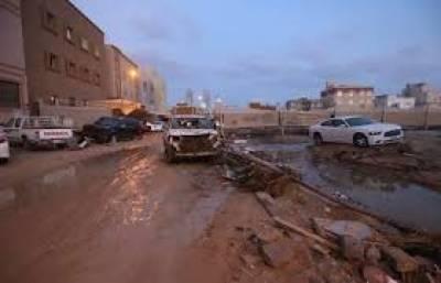 شام میں سیلابی ریلہ گاڑیوں کو بہا کرلے گیا