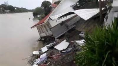 فلپائن:شدید طوفان، سیلاب اور مٹی، کے تودے گرنے کے باعث ہلاکتوں کی تعداد 70ہوگئی