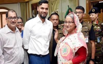 بنگلادیشی کرکٹر مشرفی مرتضی رکن پارلیمنٹ منتخب