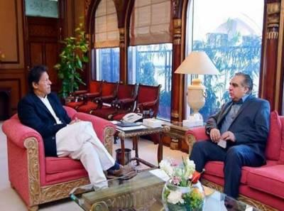 وزیراعظم عمران خان سے گورنر سندھ عمران اسماعیل کی ملاقات، سندھ کی سیاسی صورتحال پر تبادلہ خیال