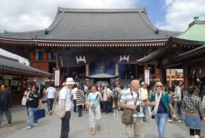 جاپانی حکومت کی غیر ملکی سیاحوں کی تعداد میں اضافے کی کوشش