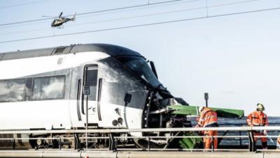 ڈنمارک میں مسافر اور مال بردار ٹرینوں کو حادثہ، 6 افراد ہلاک