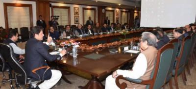 وزیر اعظم عمران خان کی زیر صدارت اعلٰی سطح کا اجلاس