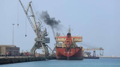 یمن کی بندرگاہوں پر آنے والے 10 جہازوں کو پرمٹ جاری کیا .عرب اتحاد