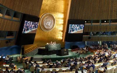 پانچ ممالک نے سلامتی کونسل کی عارضی رکنیت کی ذمہ داری سنبھال لی