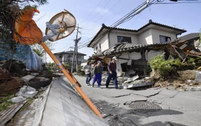 مغربی جاپان کے کماموتو شہر میں6.0 شدت کا زلزلہ ،کوئی جانی مالی نقصان نہیں ہوا