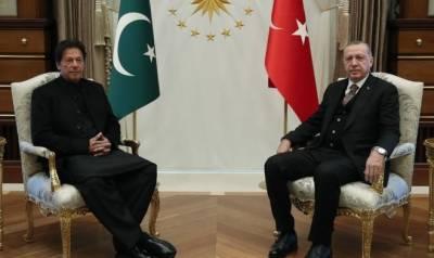 وزیر اعظم عمران خان اور ترک صدر رجب طیب اردوان کے درمیان ملاقات, دو طرفہ علاقائی اور عالمی امور پر تبادلہ خیال