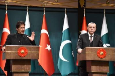 پاکستان داعش کیخلاف جنگ میں ترکی کے ساتھ ہے,پاکستان بھارت سمیت اپنے تمام ہمسایہ ملکوں کے ساتھ خوشگوار تعلقات چاہتا ہے:وزیراعظم اورترک صدر کی مشترکہ پریس کانفرنس