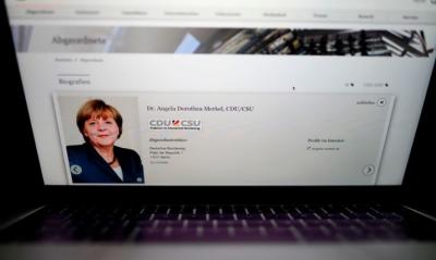 جرمن چانسلر سمیت سیاستدانوں اور اہم شخصیات کا ڈیٹا چوری