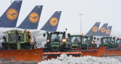 آسٹریا اور جنوبی جرمنی شیدید برفباری کی زد میں