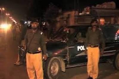 پولیس کی ایک ماہ میں جرائم پیشہ عناصر کے خلاف کاروائی