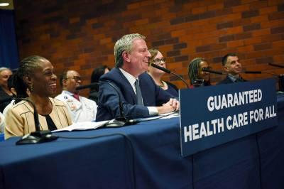 نیویارک کے تمام مکینوں کو صحت کی بہتر سہولتوں کی فراہمی کے لئے 10 کروڑ ڈالر کے پیکج کا اعلان