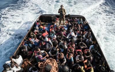 انسانی اسمگلنگ عروج پر پہنچ چکی، خواتین اور بچوں کی تعداد زیادہ ہے۔ اقوام متحدہ