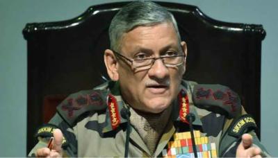 شرائط کے بغیر افغان طالبان سے مذاکرات کا خیر مقدم کرتے ہیں، بھارتی آرمی چیف