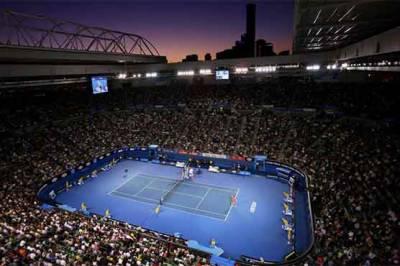 ٹینس سیزن کے پہلے گرینڈ سلیم آسٹریلین اوپن میں آج سے مین راؤنڈ شروع