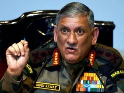 بھارت کو طالبان کے ساتھ مزاکرات میں شامل ہونا چاہیے۔ طالبان سے مذاکرات کا فارمولہ مقبوضہ کشمیر پر نافذ نہیں ہو گا: بھارتی آرمی چیف جنرل بپن راوت