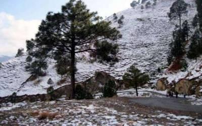 اسلام آباد، راولپنڈی سمیت بالائی پنجاب اور خیبر پختونخوا کہیں کہیں بارش اور کشمیر میں ہلکی برف باری کا امکان