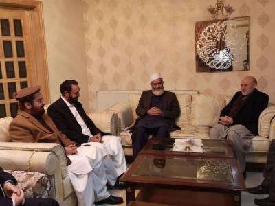 پرامن افغانستان علاقائی امن اور پاکستان کے لئے ضروری ہے۔سینیٹر سراج الحق